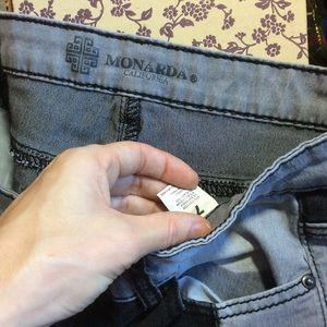 Hot Topic Jeans - MONDARDA California Color Block Skinny